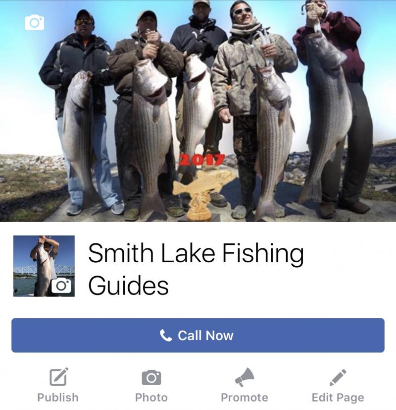 Smith Lake Fishing Guides - Facebook Link